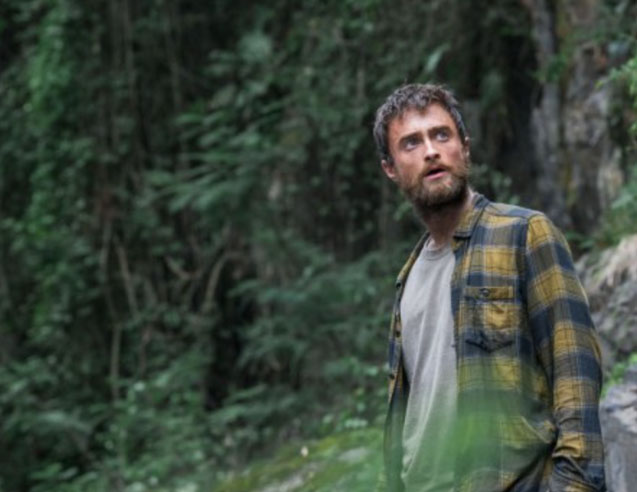 Daniel Radcliffe Goes Full Revenant in the Intense Jungle Trailer
