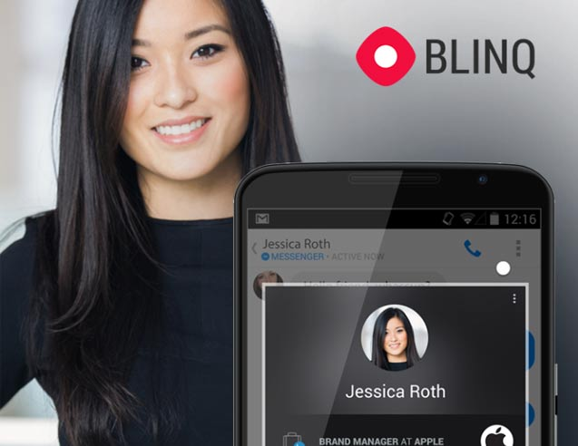 Blinq Enhances Your Favorite Messaging Applications With Extra Information